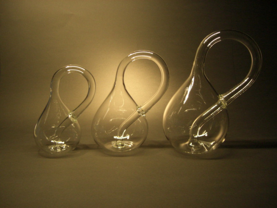 kleinsche flasche mundgeblasen aus glas kleinsche flasche shop kurt schlitt glasbl serei. Black Bedroom Furniture Sets. Home Design Ideas
